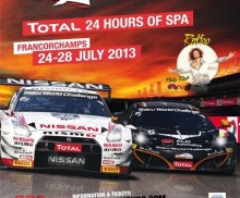 Total 24hours of Spa will be held from 27th July! 今年のスパ24時間は7月27日、28日