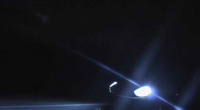 An R35 encounters a challenge from Datsun Fairlady Z… ダットサンフェアレディZに勝負を挑まれるR35?!