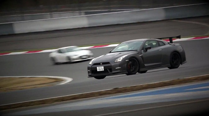 GTR NISMO N-Attack Package test at Fuji Speedway