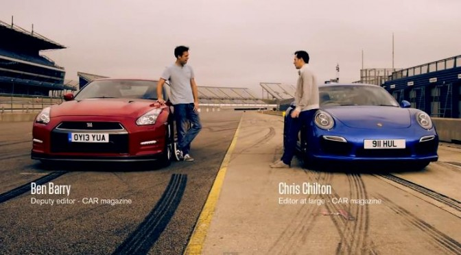 The latest Porsche 911 Turbo beats 2014 Nissan GT-R in every aspect? 最新のポルシェ911ターボはMY2014GT-Rにあらゆる面で勝る?