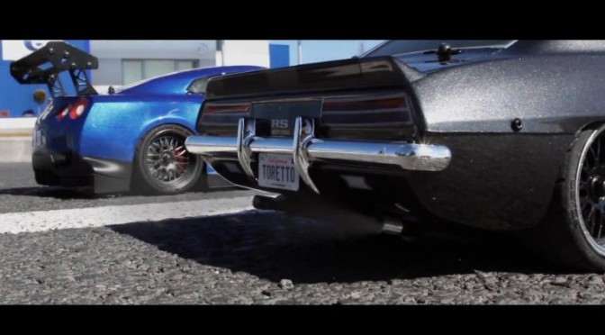 """The world of """"Fast and Furious"""" recreated with R/C cars?! 映画「ワイルドスピード」をラジコンで再現?!"""